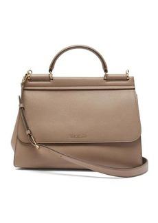 Dolce & Gabbana Sicily Soft medium leather bag