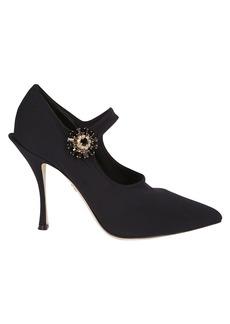 Dolce & Gabbana Side Embellished Pumps