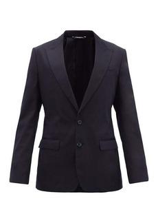 Dolce & Gabbana Single-breasted cotton-blend jacket