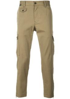 Dolce & Gabbana slim cargo trousers - Green