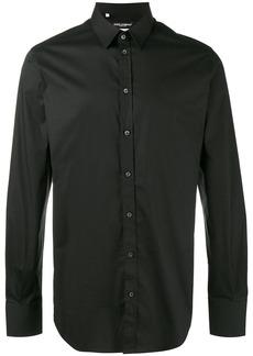 Dolce & Gabbana small collar shirt - Black