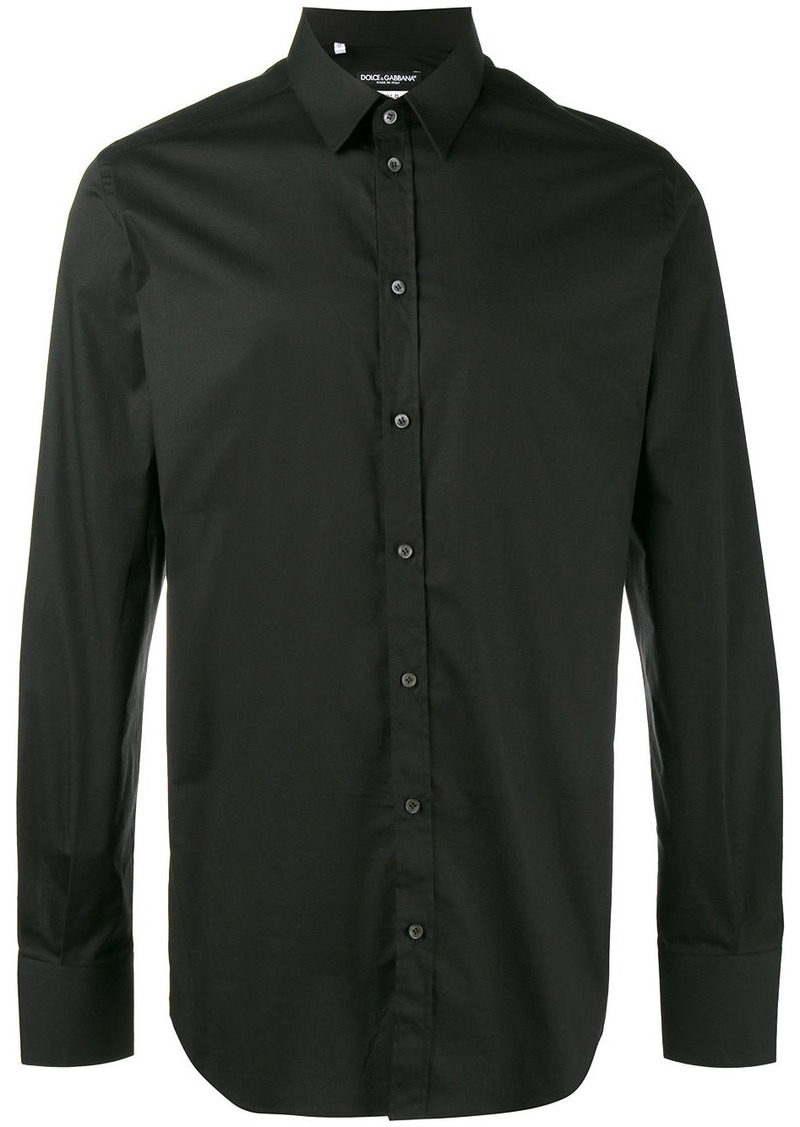 Dolce & Gabbana small collar shirt