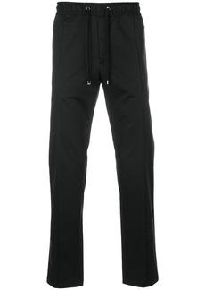 Dolce & Gabbana straight leg joggers - Black