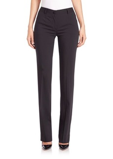 Dolce & Gabbana Straight Wool-Blend Pants