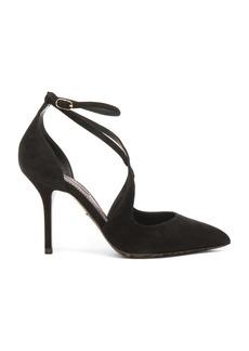 Dolce & Gabbana Strappy Suede Belucci Heels