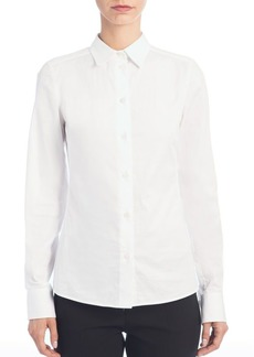Dolce & Gabbana Stretch Cotton Shirt