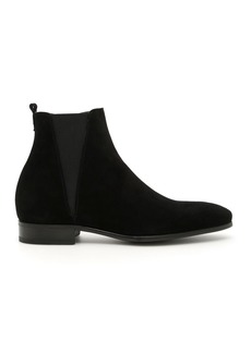 Dolce & Gabbana Suede Beatle Boots