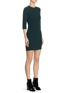 Dolce & Gabbana Topstitch Cady Mini Dress