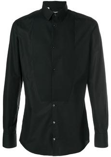 Dolce & Gabbana tuxedo slim shirt - Black
