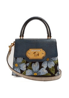 Dolce & Gabbana Welcome floral-jacquard bag