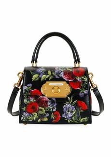 Dolce & Gabbana Welcome Palmellato Floral Handbag