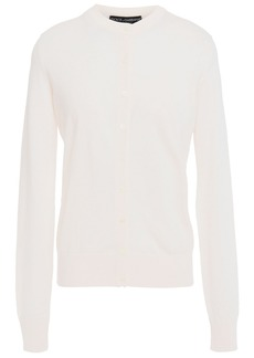 Dolce & Gabbana Woman Cashmere And Silk-blend Cardigan Off-white
