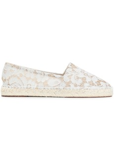 Dolce & Gabbana Woman Corded Lace Espadrilles Off-white