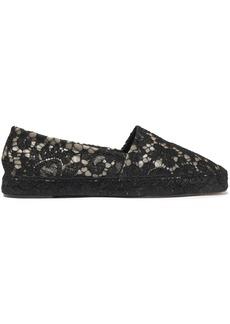 Dolce & Gabbana Woman Corded Lace Espadrilles Black