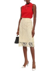 Dolce & Gabbana Woman Crepe Top Red