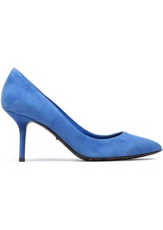 Dolce & Gabbana Woman Kate Suede Pumps Azure