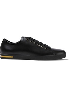 Dolce & Gabbana Woman Leather Sneakers Black