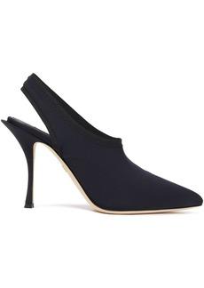 Dolce & Gabbana Woman Lori Stretch-jersey Slingback Pumps Black