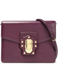 Dolce & Gabbana Woman Leather Shoulder Bag Plum