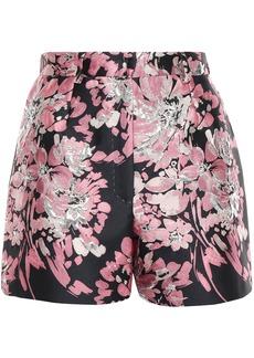 Dolce & Gabbana Woman Metallic Brocade Shorts Baby Pink