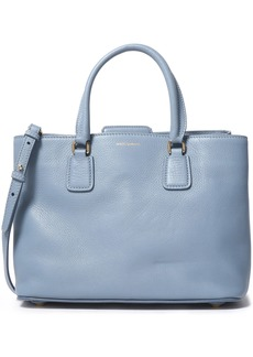 Dolce & Gabbana Woman Textured-leather Shoulder Bag Sky Blue