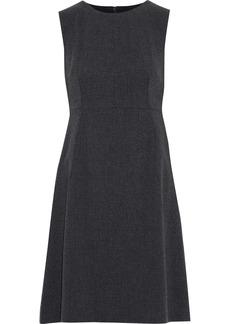 Dolce & Gabbana Woman Wool-blend Canvas Dress Charcoal