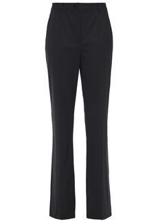 Dolce & Gabbana Woman Wool-blend Straight-leg Pants Black