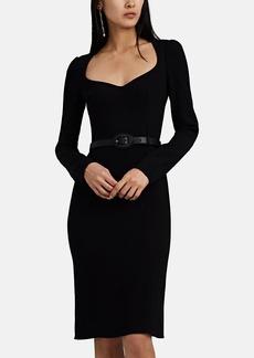 Dolce & Gabbana Women's Cady Fitted Midi-Dress