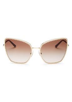 Dolce & Gabbana Women's Cat Eye Sunglasses, 61mm