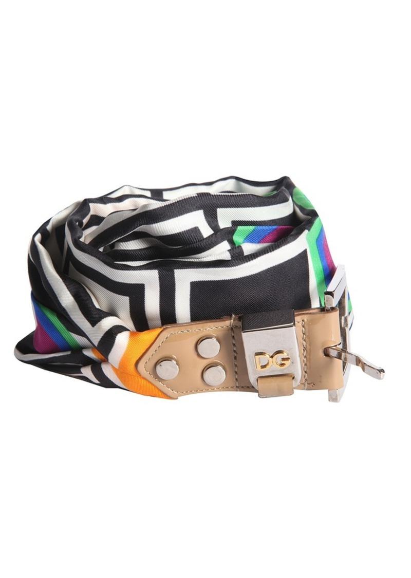 Dolce & Gabbana Women's Foulard Scarf Belt