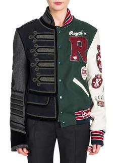 Dolce & Gabbana Mixed Media Jacket