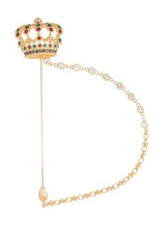 Dolce & Gabbana crown pin brooch