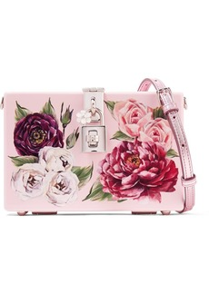 Dolce & Gabbana Dolce Box Floral-print Acrylic Shoulder Bag