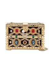 Dolce & Gabbana Dolce Box Jeweled Clutch