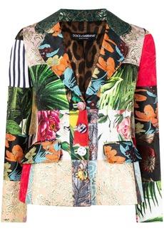 Dolce & Gabbana Dolce patchwork blazer