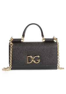 Dolce & Gabbana Dolce&Gabanna Logo Phone Wallet on a Chain