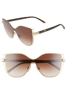 Dolce & Gabbana Dolce&Gabbana 128mm Cat Eye Sunglasses