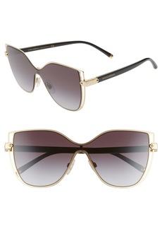 Dolce & Gabbana Dolce&Gabbana 128mm Cat Eye Sunglasses