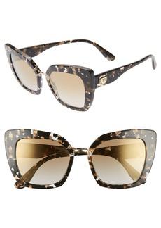 Dolce & Gabbana Dolce&Gabbana 52mm Cat Eye Sunglasses