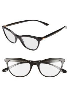 Dolce & Gabbana Dolce&Gabbana 50mm Optical Cat Eye Glasses