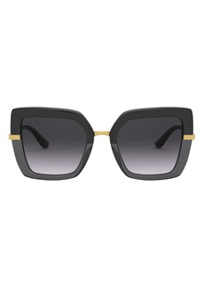 Dolce & Gabbana Dolce&Gabbana 52mm Square Sunglasses