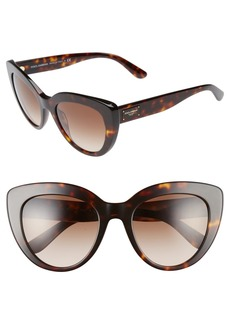 Dolce&Gabbana 53mm Cat Eye Sunglasses