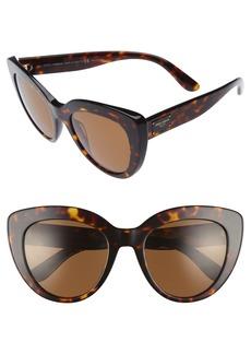 Dolce & Gabbana Dolce&Gabbana 53mm Polarized Cat Eye Sunglasses