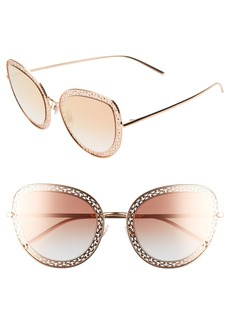 Dolce & Gabbana Dolce&Gabbana 54mm Cat Eye Sunglasses