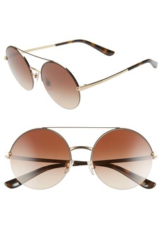 Dolce & Gabbana Dolce&Gabbana 54mm Gradient Round Sunglasses