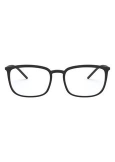 Dolce & Gabbana Dolce&Gabbana 56mm Rectangular Optical Glasses