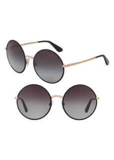 Dolce & Gabbana Dolce&Gabbana 56mm Retro Sunglasses