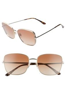 Dolce & Gabbana Dolce&Gabbana 58mm Gradient Butterfly Sunglasses