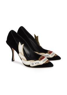 Dolce & Gabbana Dolce&Gabbana Amanti Sacred Heart Pump (Women)