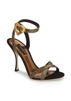 Dolce & Gabbana Dolce&Gabbana Ankle Strap Sandal (Women)